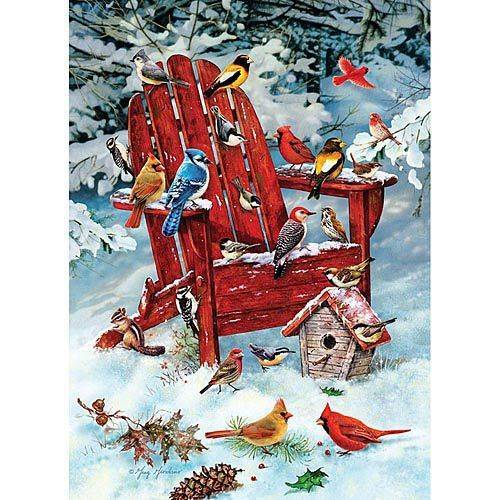 Adirondack Birds 1000 Piece Puzzle