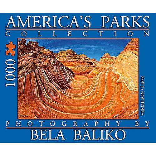 America's Parks The Wave 1000 Piece Puzzle