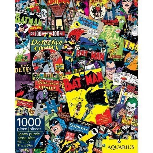 Batman Collage 1000 Piece Puzzle