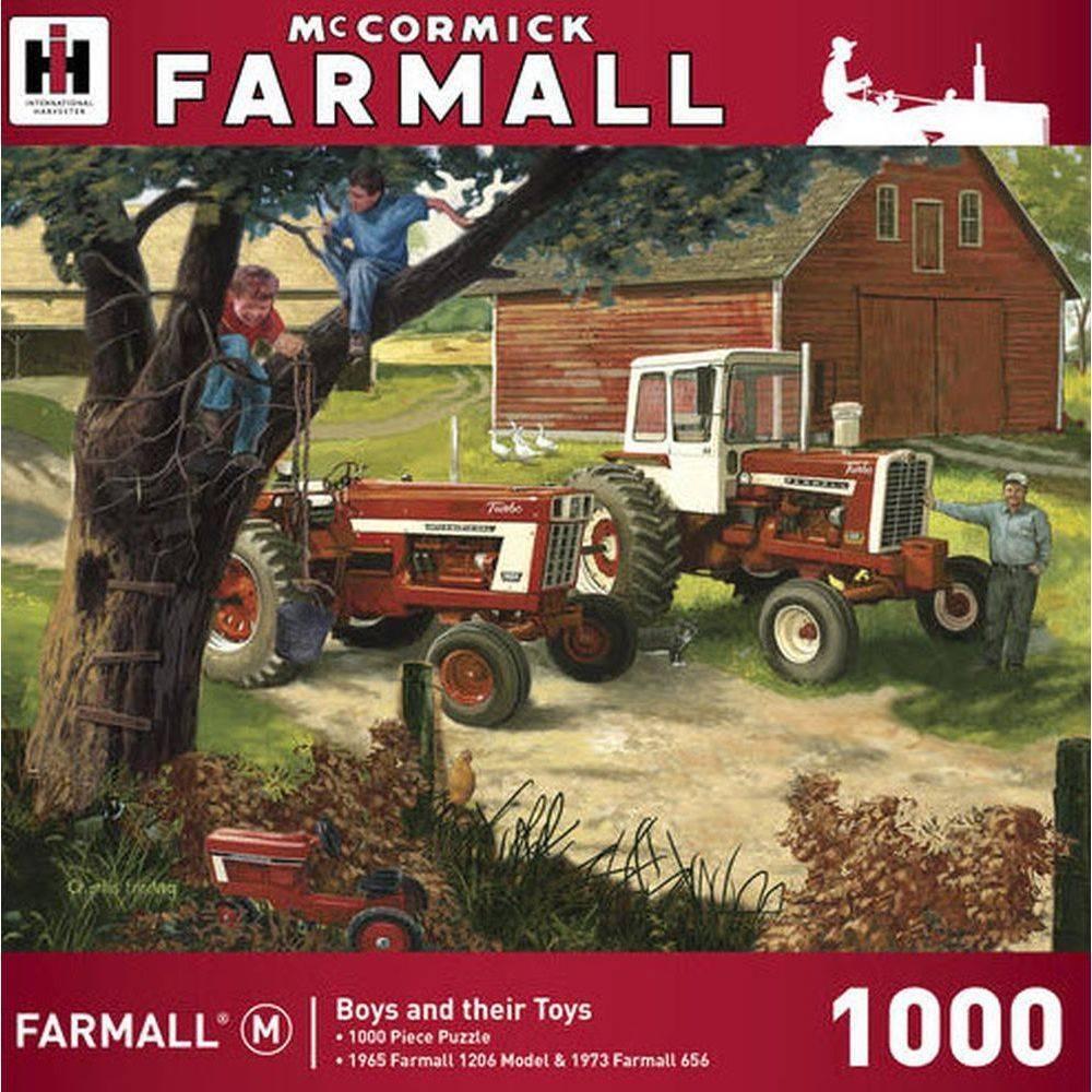 Farmall 1000 Piece Puzzle