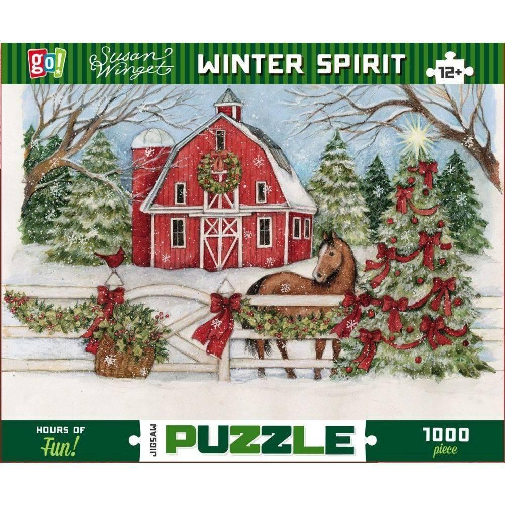 GC Winget Winter Spirit 1000 Piece Puzzle