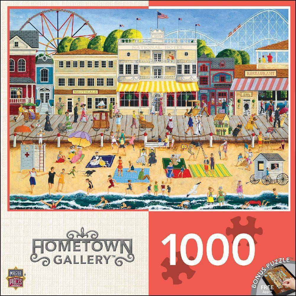 Hometown Gallery - On The Boardwalk 1000 Piece Puzzle