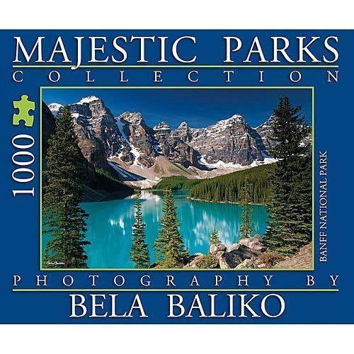 Majestic Parks Moraine Lake Park 1000 Piece Puzzle