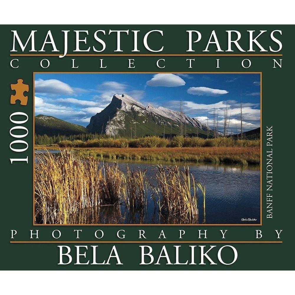 Majestic Parks Mt Rundle 1000 Piece Puzzle