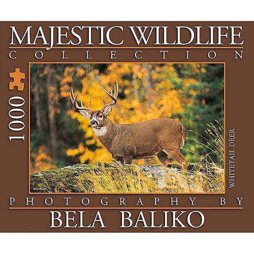 Majestic Wildlife Whitetail Deer 1000 Piece Puzzle