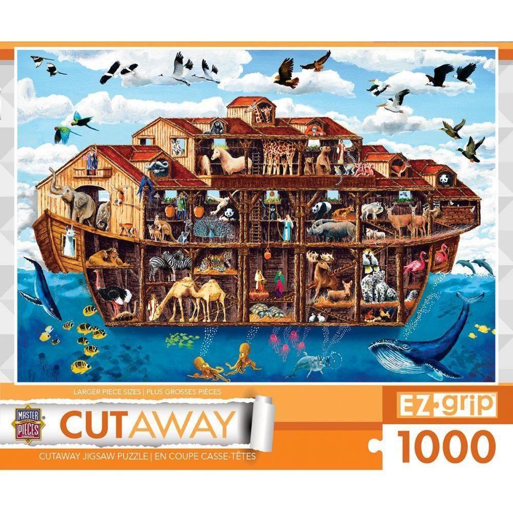 Noahs Ark 1000 Piece EZ Grip Cut Away