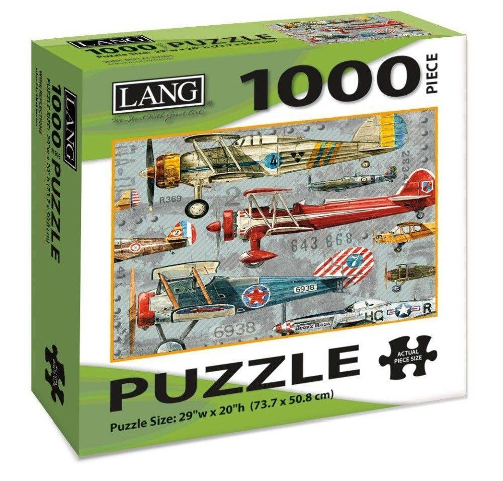 Planes 1000 Piece Puzzle by Artly