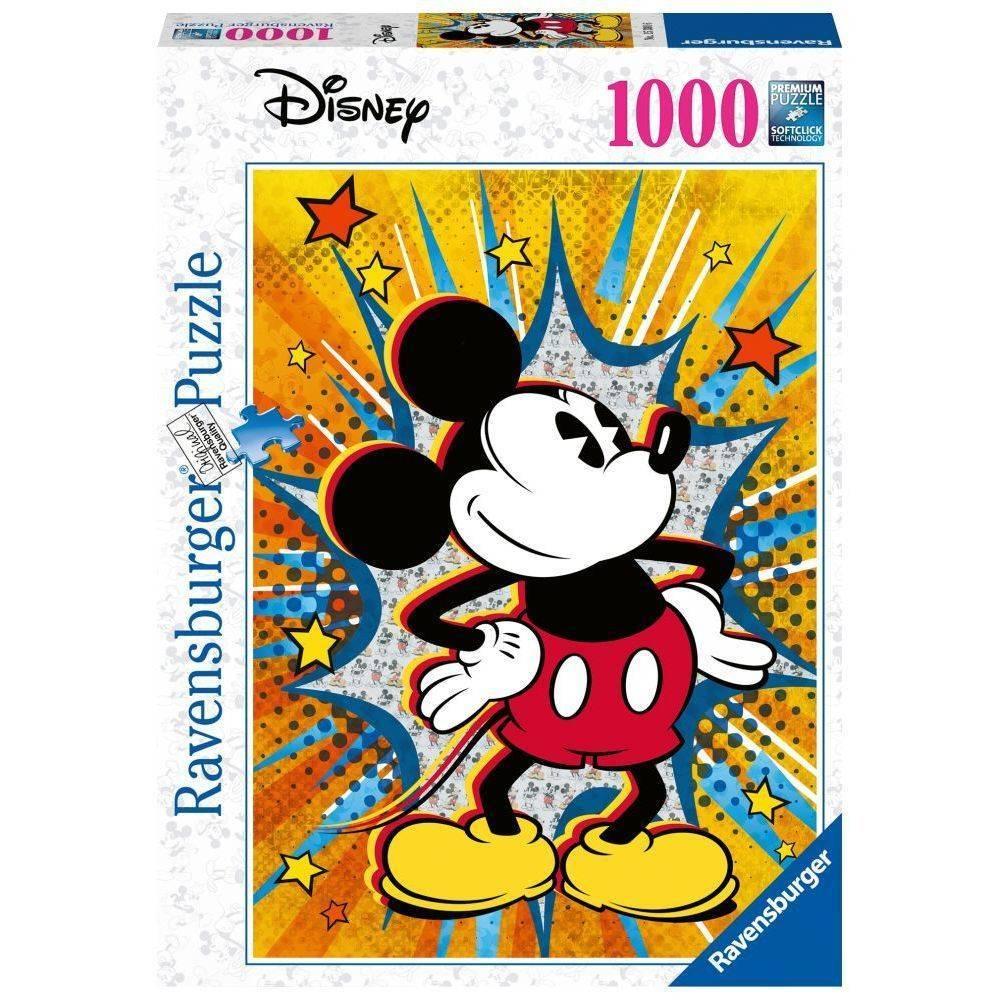 Retro Mickey 1000 Piece Puzzle