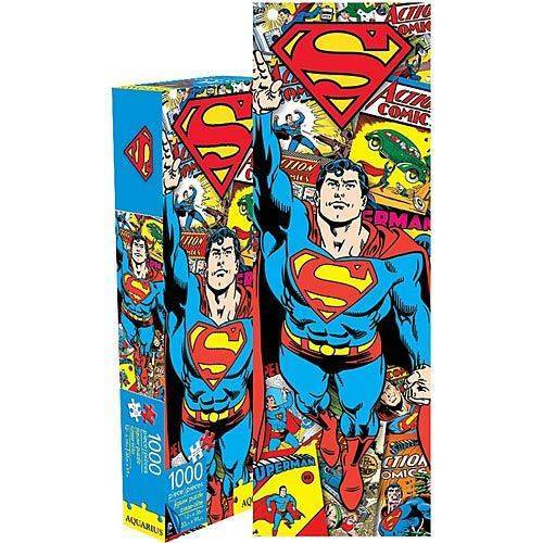 Retro Superman 1000 Piece Puzzle
