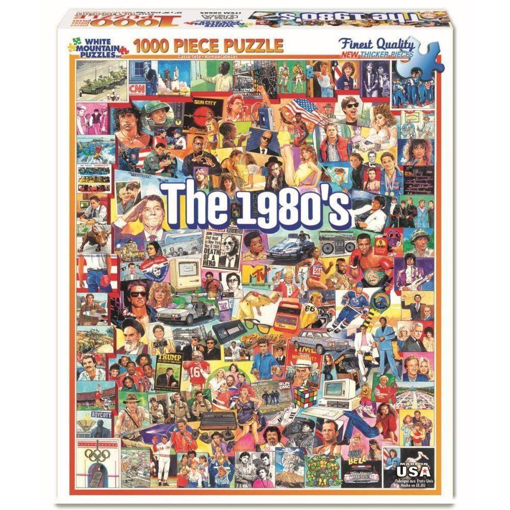 The 1980s 1000 Piece Puzzle