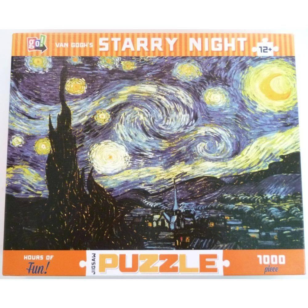 Van Gogh 1000 Piece Puzzle