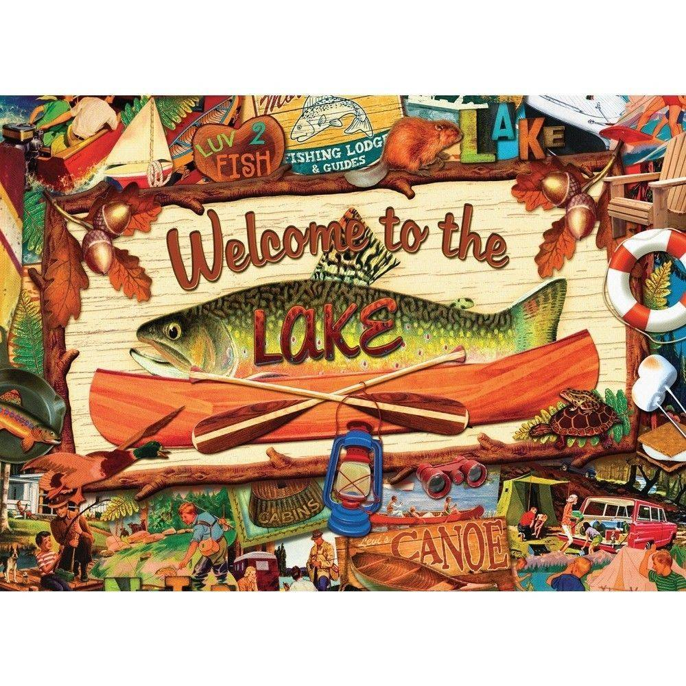 Welcome to the Lake 1000 Piece Puzzle