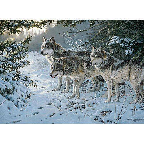 Wolf Trail 1000 Piece Puzzle