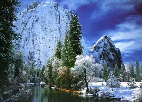 Yosemite Park 1000 Piece Puzzle